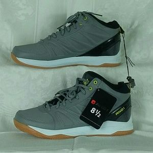 AND 1 Mens Athletic Shoes Sz 8.5 Grey NWT